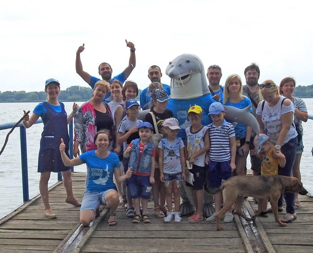 """IMG 4510 - Друга """"Осетрова варта"""": як волонтери допомагали рятувати осетрів Дунаю"""